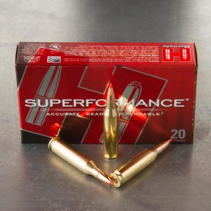 20rds - 243 Win. Hornady Superformance 95gr. SST Ammo