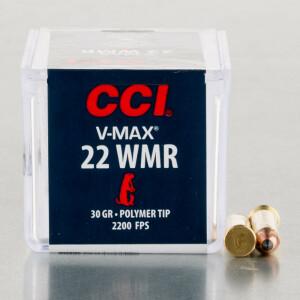50rds - 22 Mag CCI 30gr. V-Max Polymer Tip Ammo