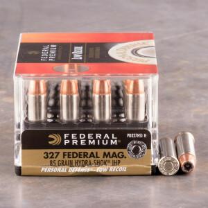 20rds - 327 Federal Magnum Federal Hydra-Shok 85gr. Hollow Point Ammo