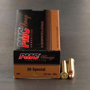 1000rds - 38 Special PMC 132gr. FMJ Ammo