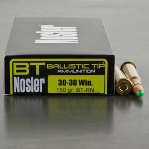 20rds – 30-30 Nosler 150gr. Ballistic Tip Ammo