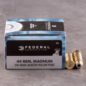 20rds - 44 Mag Federal Power-Shok 240gr. JHP Ammo