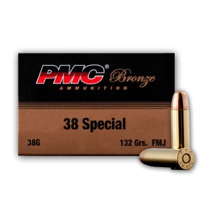 300rds - 38 Special PMC Battle Pack 132gr. FMJ Ammo
