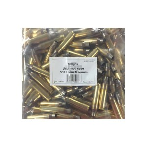100pcs – 338 Lapua Prvi Partizan New Unprimed Brass Casings