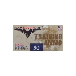 1000rds - 10mm Team Never Quit 180gr. FMJ Ammo