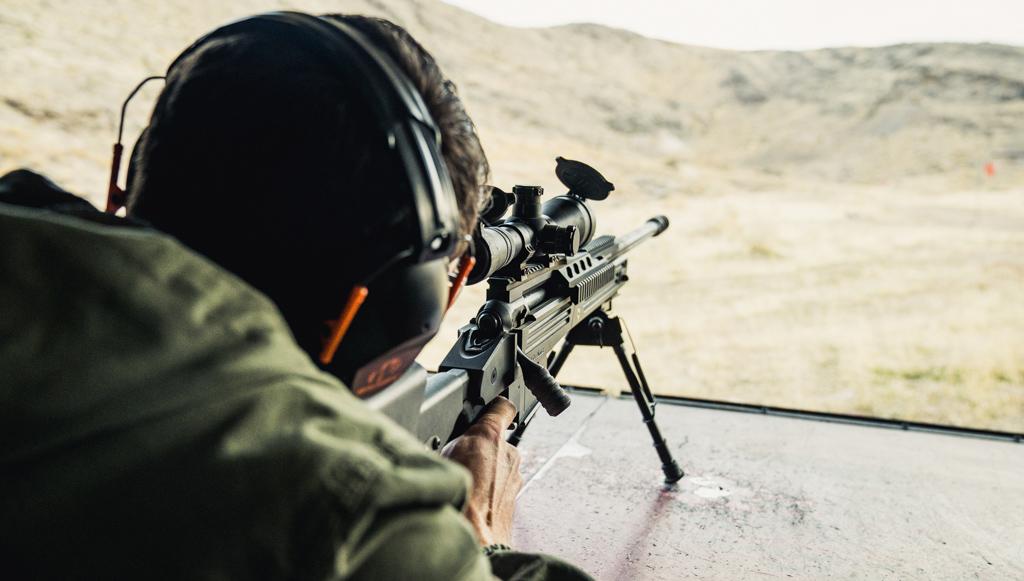 Shooting 338 lapua ammo