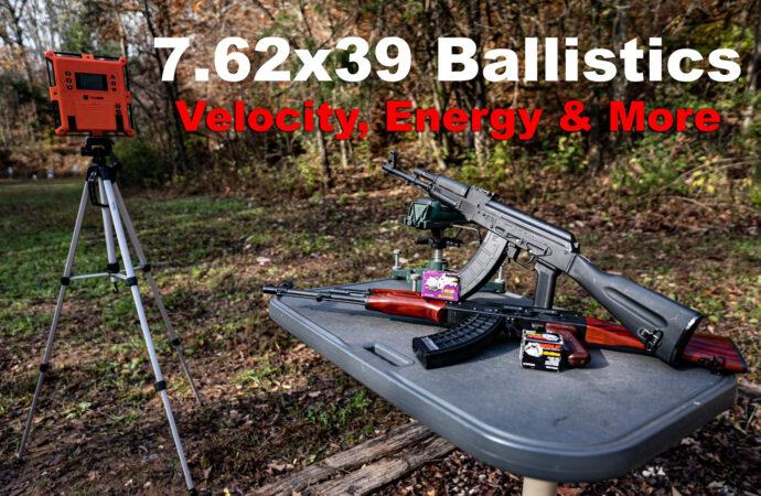 testing 7.62x39 ammo for ballistics