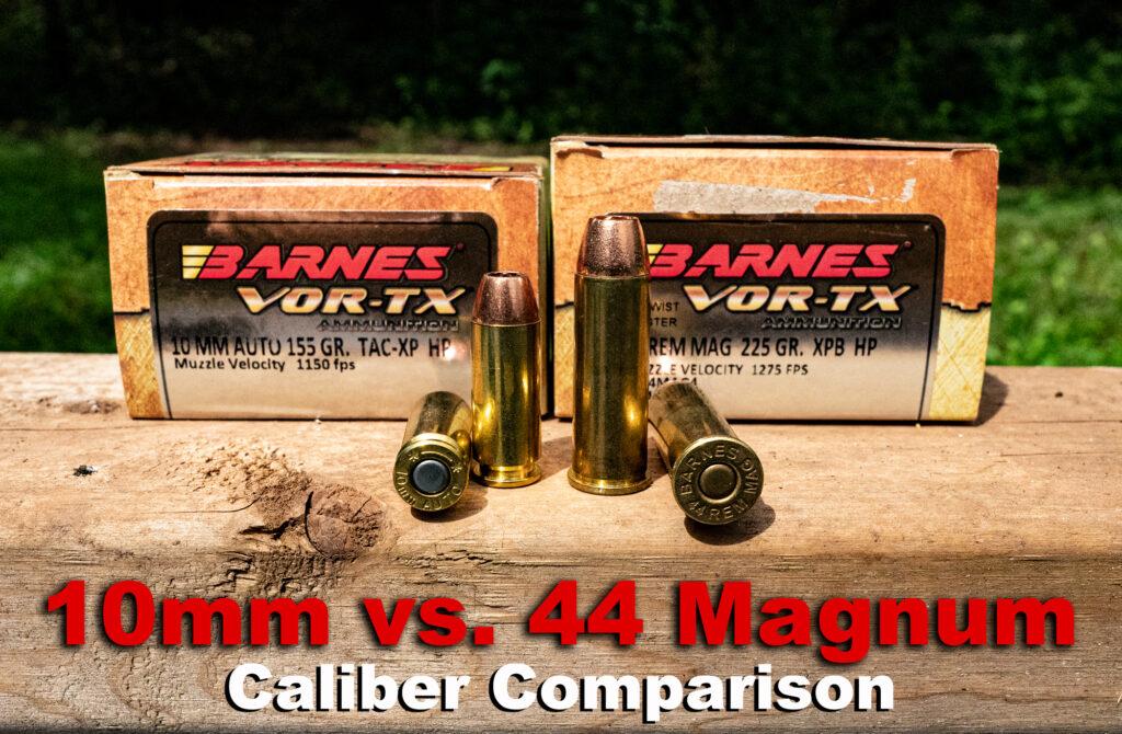 45 ACP vs. 44 magnum