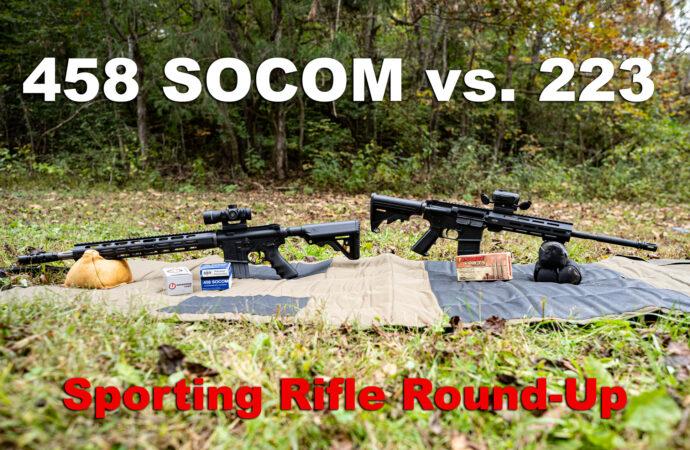 458 SOCOM vs 223 rifles