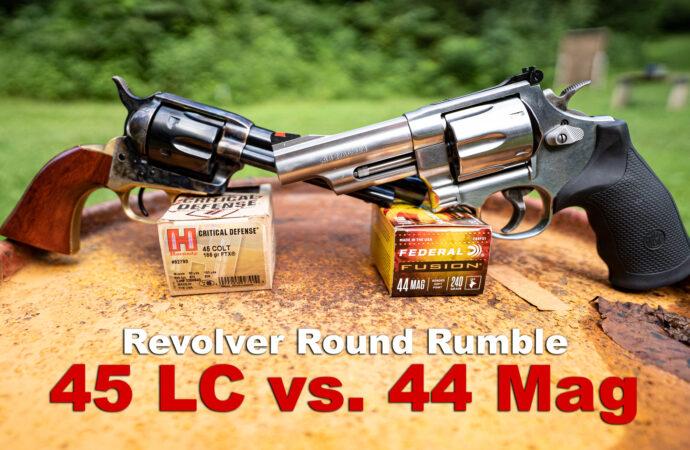 45 LC caliber vs 44 magnum