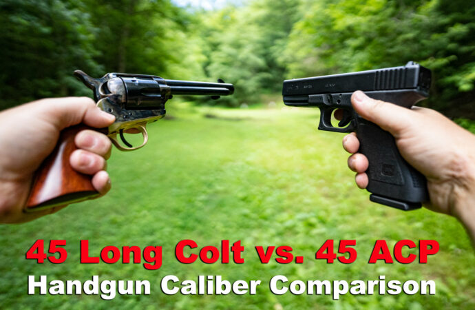 45 Long Colt vs. 45 ACP calibers