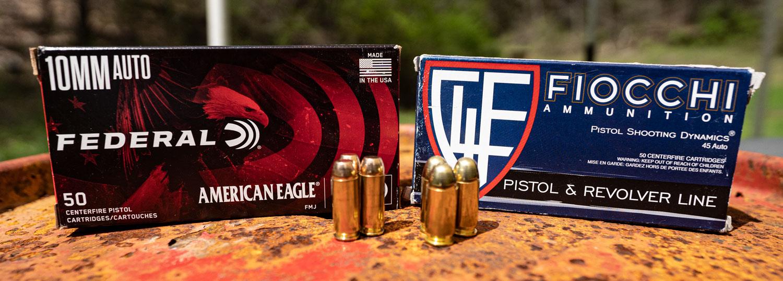 45 ACP vs. 10mm