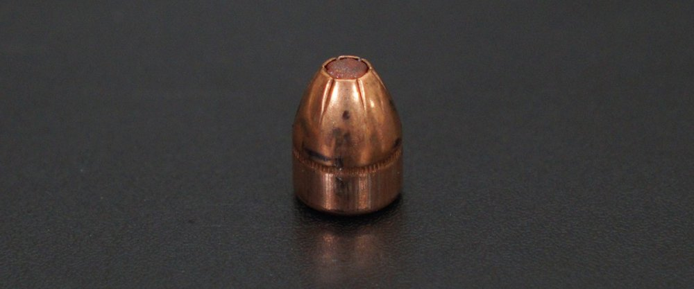 Image detailing before and after firing 20rds - .45 ACP Hornady Critical Defense 185gr. HP Ammo