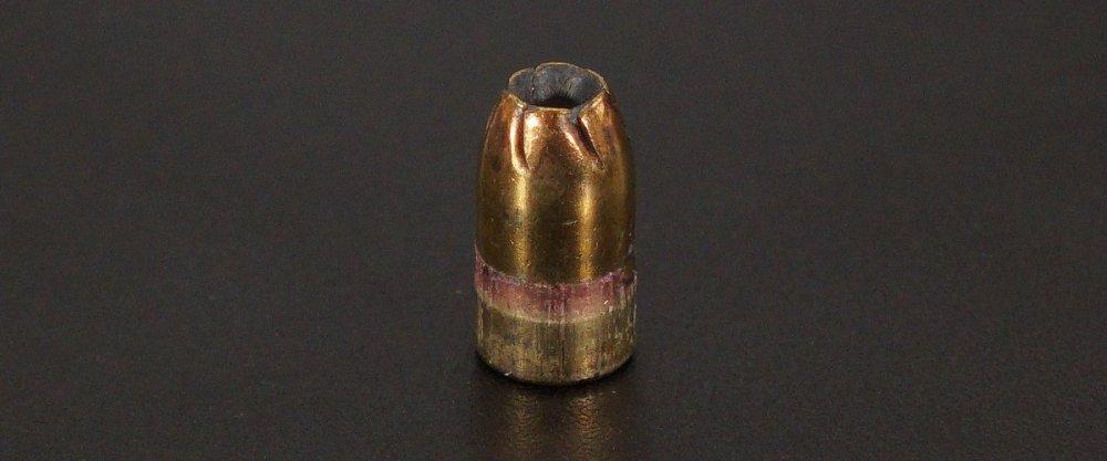 Image detailing before and after firing 50rds - 9mm Remington Golden Saber 147gr. BJHP Ammo