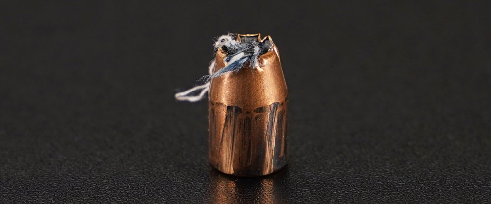 Image detailing before and after firing 500rds – 10mm PMC Bronze 170gr. JHP Ammo