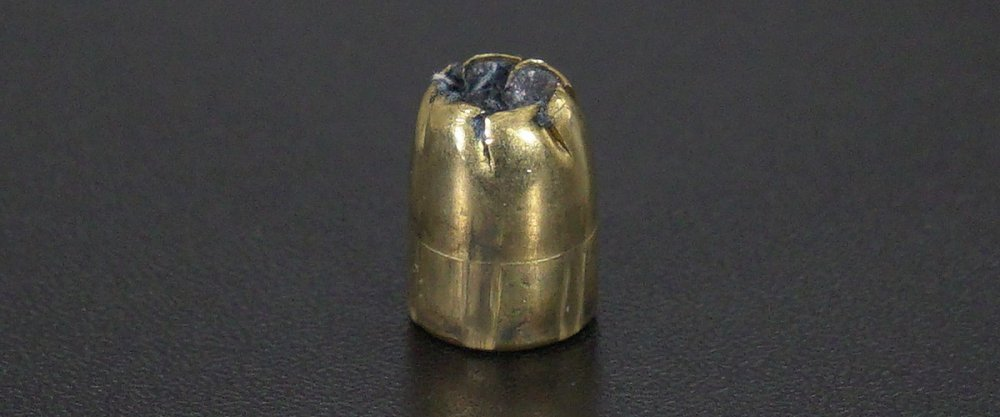 Image detailing before and after firing 20rds - 380 Auto Remington Ultimate Defense 102gr. BJHP Ammo