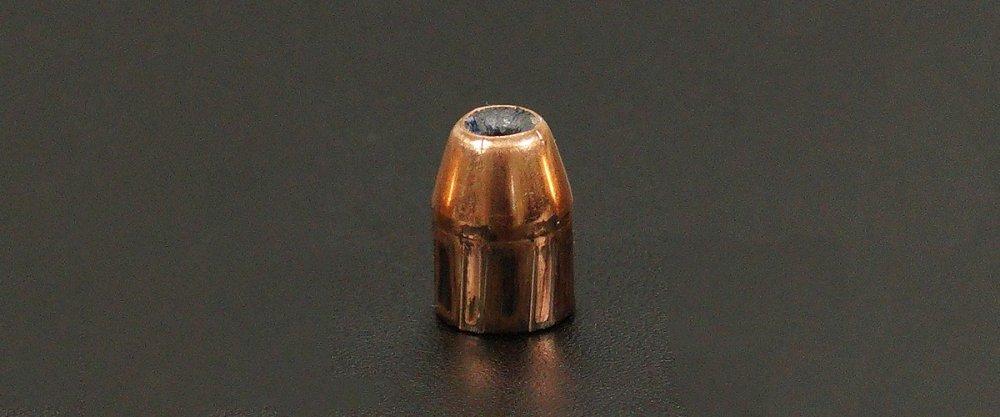 Image detailing before and after firing 50rds - 45 ACP Nosler Match Grade Handgun 230gr. JHP Ammo