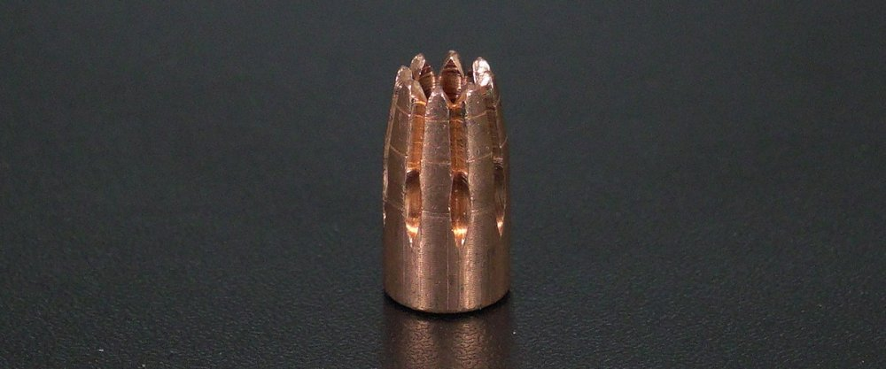 Image detailing before and after firing 20rds - 9mm G2 Research RIP 96gr. HP LF Ammo