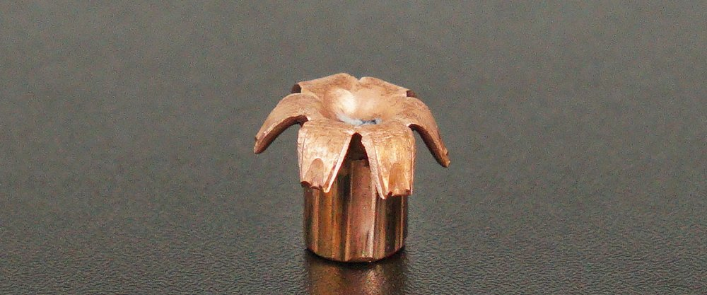Image detailing before and after firing 20rds - 357 Mag Heavy Buffalo Bore 125gr. Barnes XPB HP Ammo