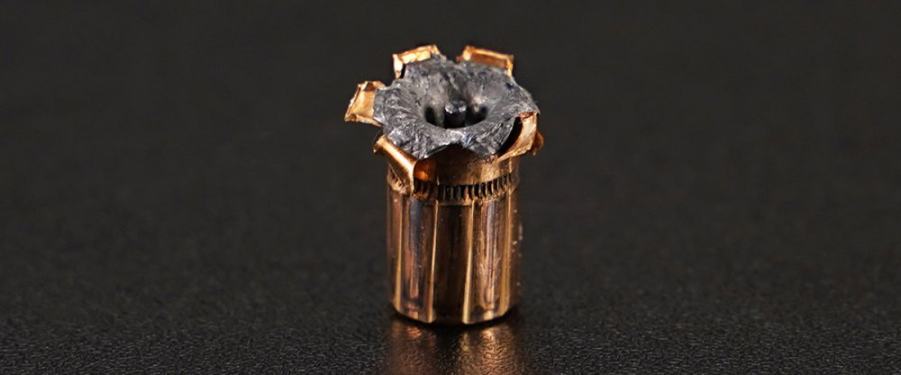 Image detailing before and after firing 500rds – 357 Magnum Federal Hydra-Shok 158gr. JHP Ammo