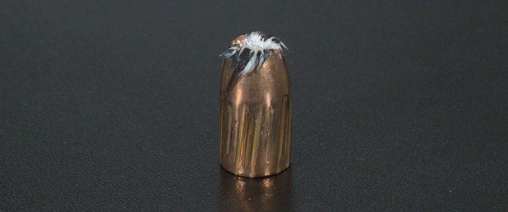 Image detailing before and after firing 50rds - 9mm Magtech Bonded 147gr. JHP Ammo