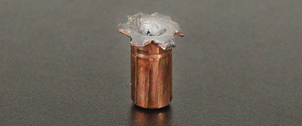 Image detailing before and after firing 20rds - 357 Mag Federal Vital-Shok 180gr. Swift A-Frame JHP Ammo