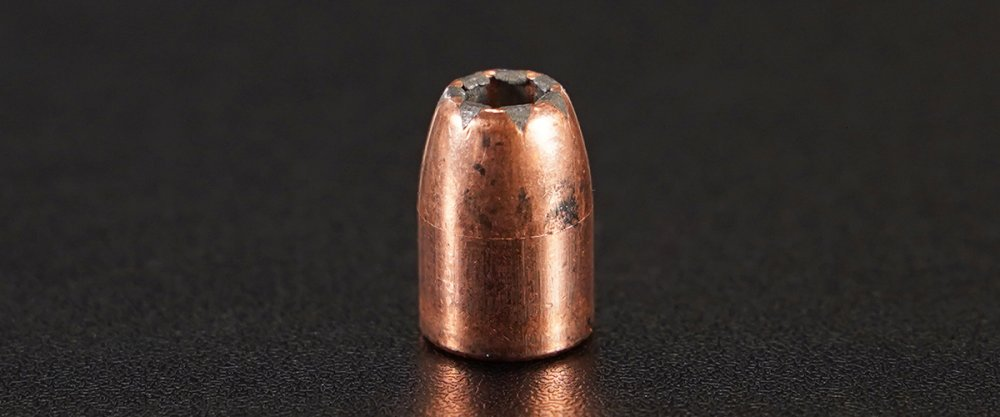 Image detailing before and after firing 50rds – 45 ACP Speer LE Gold Dot 230gr. JHP Ammo