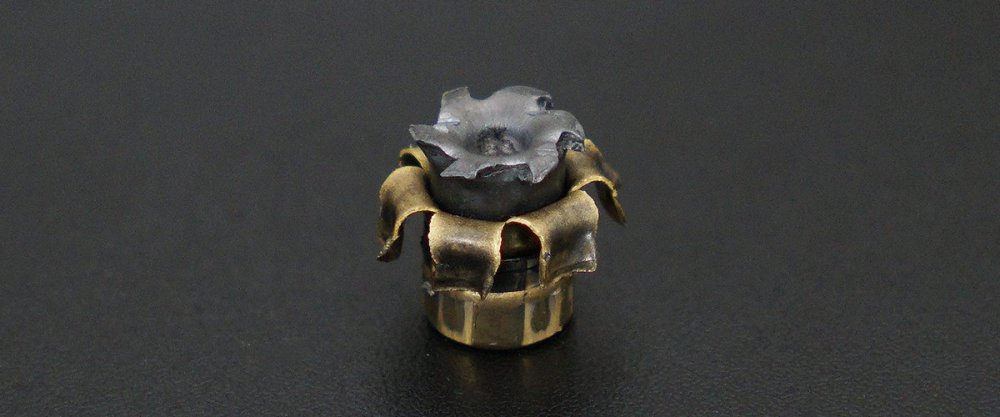 Image detailing before and after firing 50rds - 40 S&W Remington Golden Saber Black Belt 180gr. BJHP Ammo