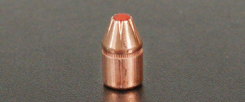 A new Hornady Critical Duty FTX 357 magnum bullet