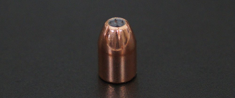 Image detailing before and after firing 20rds - 40 S&W Hornady 180gr. XTP Jacketed Hollow Point Ammo
