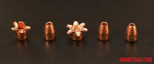 Expanded Corbon 80 Grain Jacketed Hollow-Point (JHP) 380 Auto (ACP) Ammo.