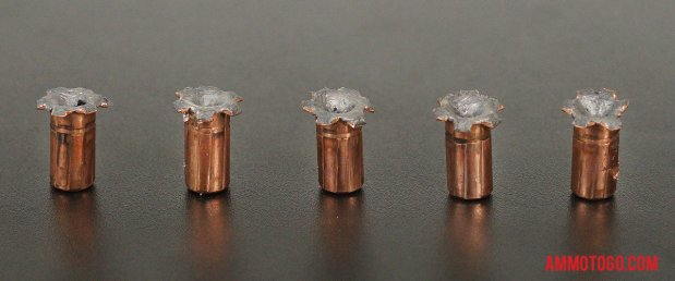 Expanded Federal Ammunition 180 Grain Jacketed Hollow-Point (JHP) 357 Magnum Ammo.