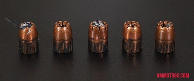 Expanded Winchester Ammunition 45 ACP (Auto) 230 Grain Jacketed Hollow-Point (JHP) bullets