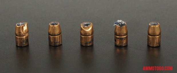 Expanded Federal Ammunition 129 Grain Jacketed Hollow-Point (JHP) 38 Special Ammo.