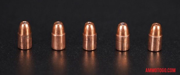 Fired rounds of CCI Ammunition 40 Grain 22 Magnum (WMR) Jacketed Hollow-Point (JHP) Ammo