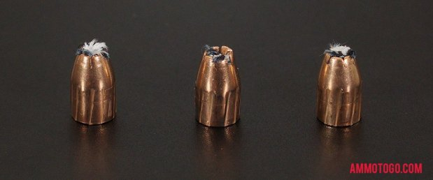 Expanded Magtech 9mm Luger (9x19) 124 Grain Jacketed Hollow-Point (JHP) bullets