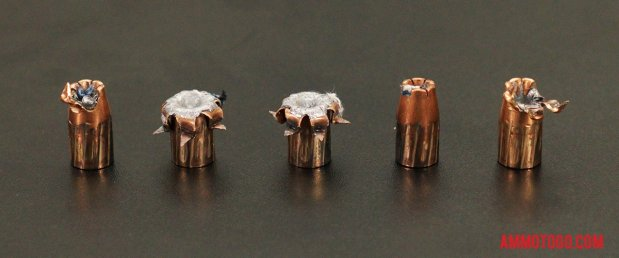 Expanded Winchester Ammunition 147 Grain Jacketed Hollow-Point (JHP) 9mm Luger (9x19) Ammo.