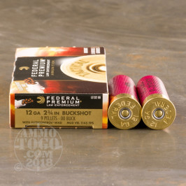 250rds – 12 Gauge Federal Tactical LE with FliteControl Wad 2-3/4