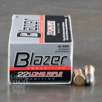 Image of 5000rds - 22LR CCI Blazer 40gr. Solid Point Ammo