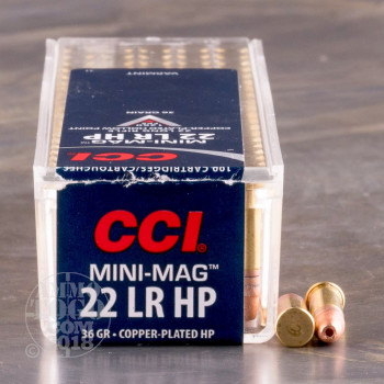 Image of 5000rds - 22 LR CCI Mini-Mag 36gr. CPHP Ammo