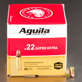 Image of 500rds – 22 LR Aguila 40gr. CPRN Ammo