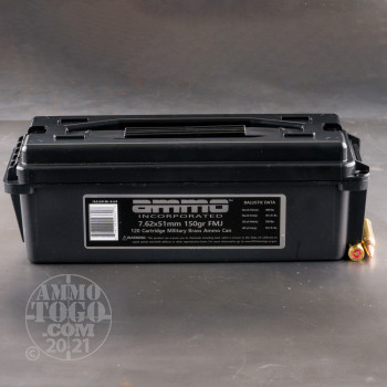 Image of 120rds – 7.62x51 Ammo Inc. 150gr. FMJ Ammo