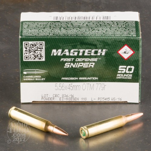 5.56x45mm Open Tip Match Ammo For Sale By CBC