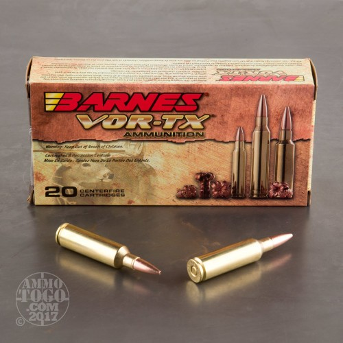 270 Win Short Mag Tsx Ammo For Sale By Barnes 20 Rounds