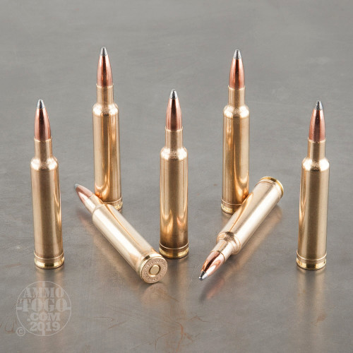 20rds - 7mm Weatherby Mag  160gr  Nosler Partition Ammo