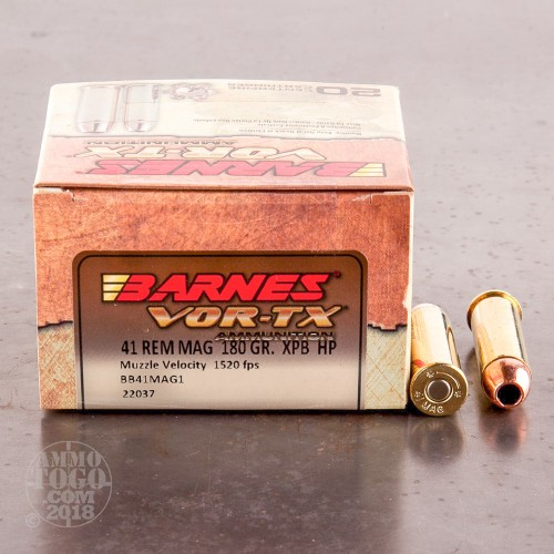 41 Rem Magnum Jacketed Hollow-Point (JHP) Ammo For Sale By