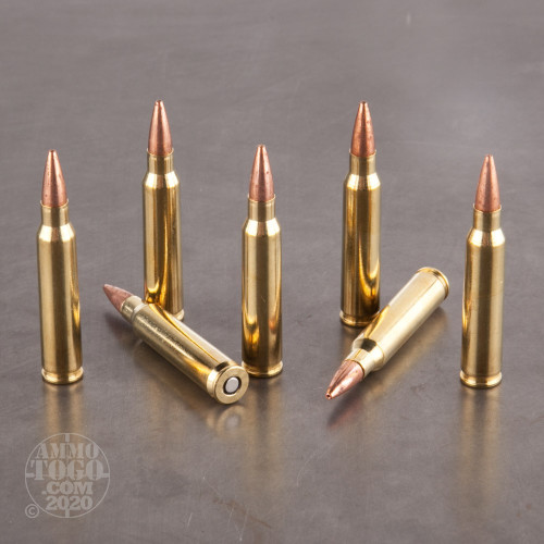 5.56x45mm Ammo - 200 Rounds of 62 Grain TTSX BT by Barnes