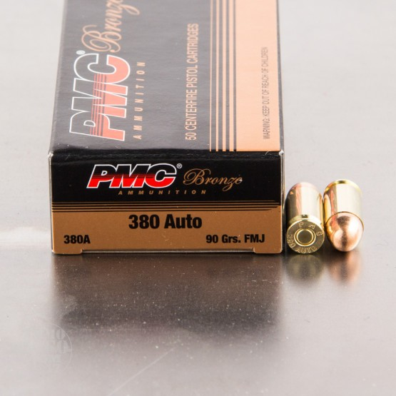900rds – 380 Auto PMC Battle Pack 90gr. FMJ Ammo