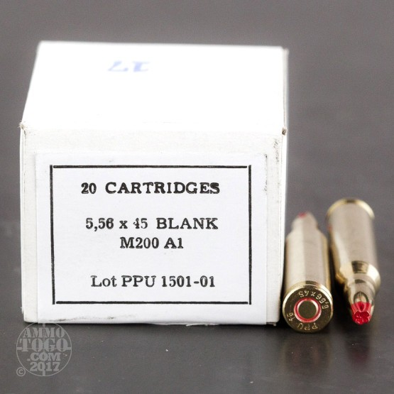 20rds – A1 5.56x45 Prvi Partizan Blanks Ammo