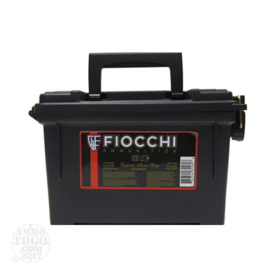 "80rds - 12 Gauge Fiocchi Low Recoil 2 3/4"" 7/8oz. Exacta Aero Slug In Polymer Ammo Can"